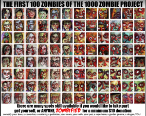 my kids Zombies:: 1000-zombie-project-byron-rempel